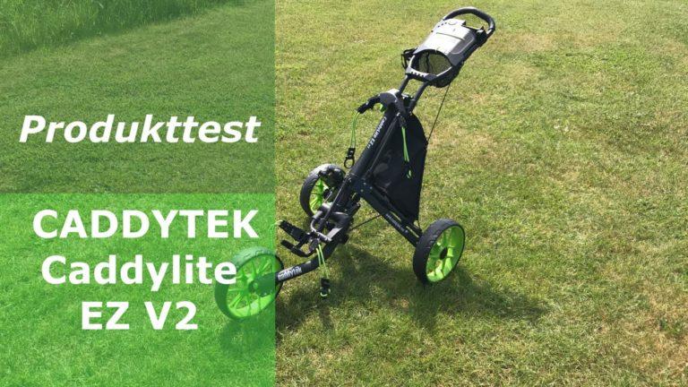TOBI TESTET: Caddytek Caddylite EZ V2 – Ein Trolley zum Verlieben