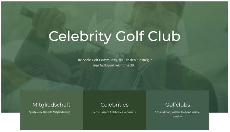 Der Celebrity Golf Club